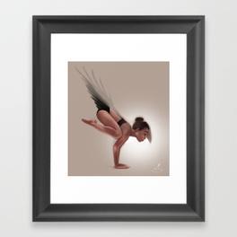 crow-salutation-framed-prints